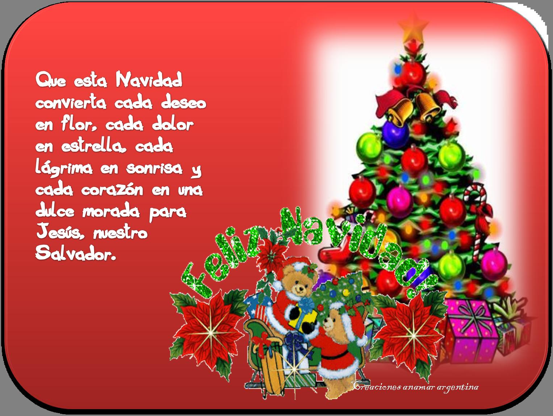 En el mes de navidad son mis deseos creaciones anamar - Deseos para la navidad ...