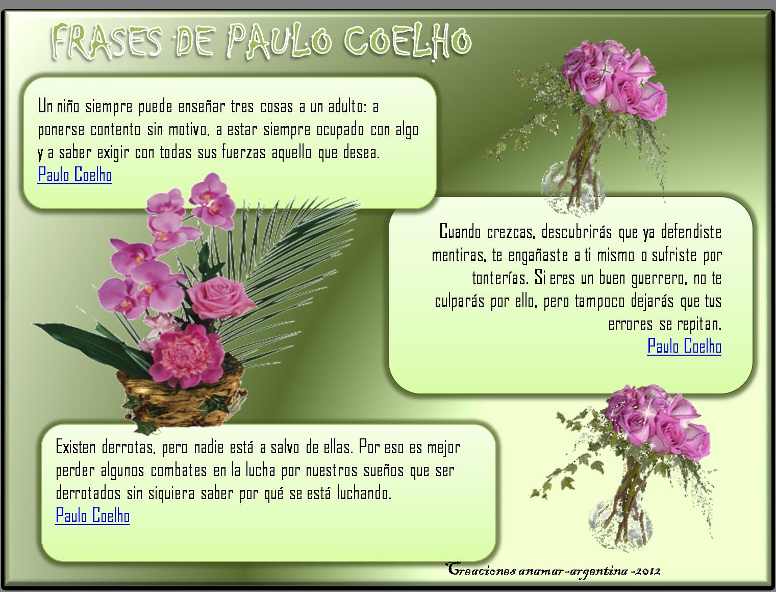 Frases de Paulo Coelho - Fotos Bonitas - Imagenes Bonitas