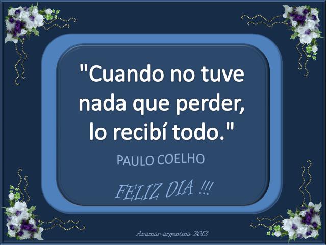 Paulo Coelho | Frases de Amor | Imagenes bonitas