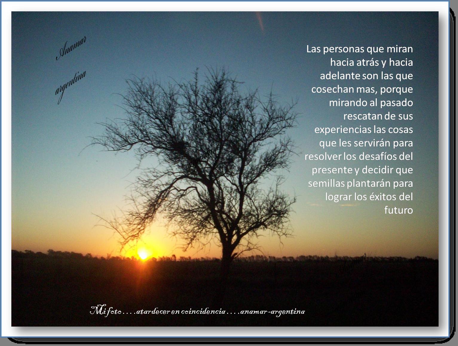 Imagenes Con Frases Atardecer Anamar Argentina Mi