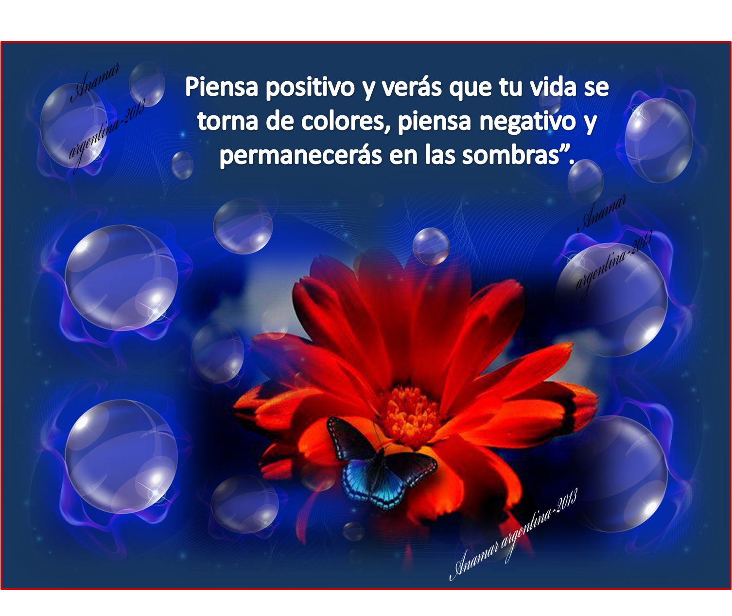 Anamar argentina imagenes con frases positivas motivadoras