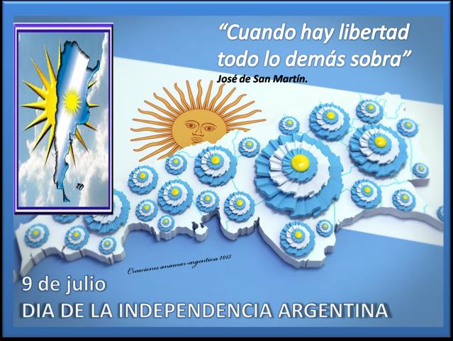 Imagen 9 DE JULIO -DIA DE LA INDEPENDENCIA ARGENTINA -3-anamar argentina