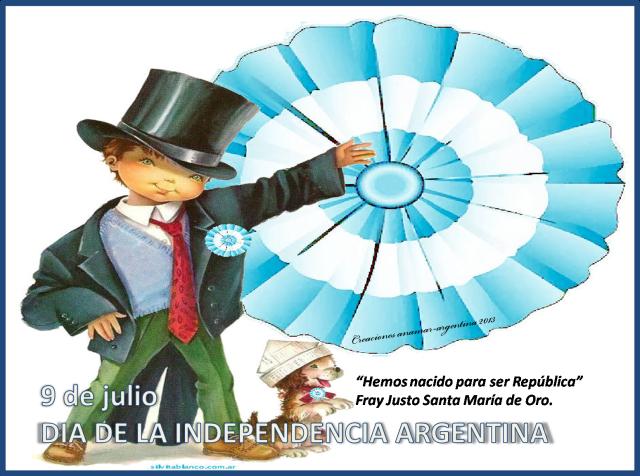 Imagen 9 DE JULIO -DIA DE LA INDEPENDENCIA ARGENTINA -4-anamar argentina