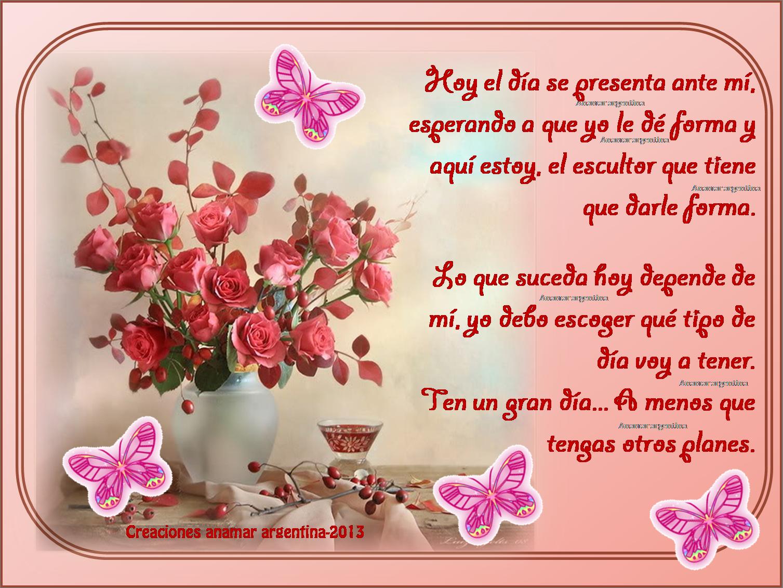 Buenos Dias Amigos Frases Con Pensamientos Positivos