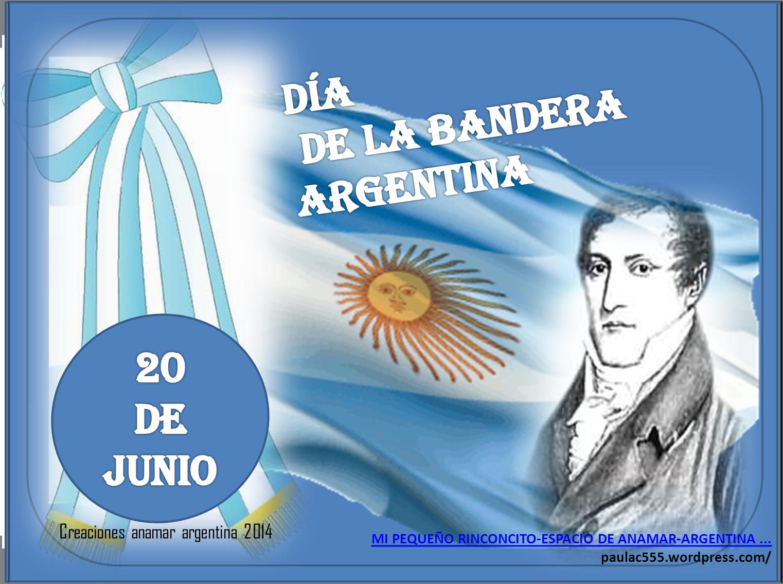 dia de la bandera argentina 20 de junio creaciones anamar argentina
