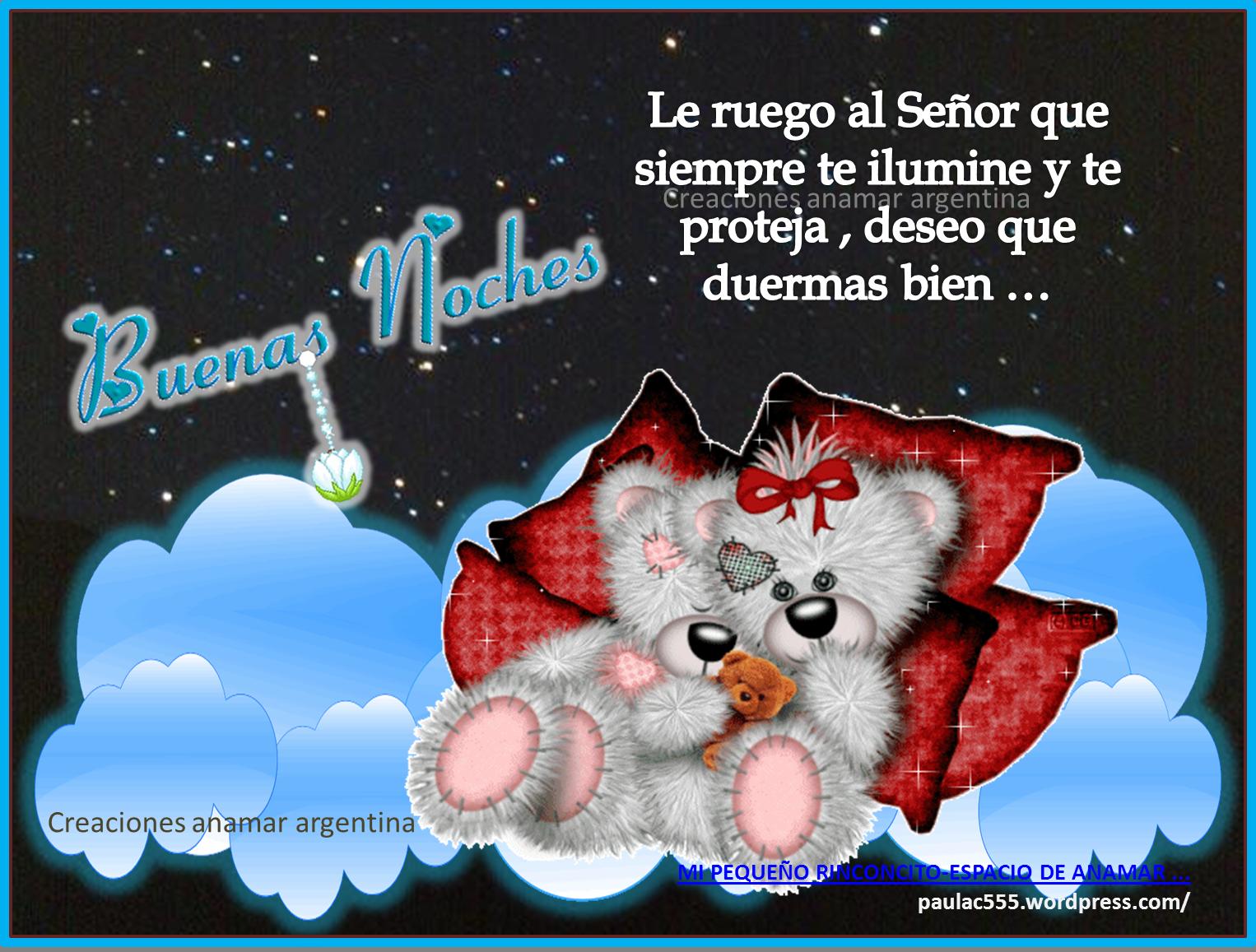 Imagen frases positivas motivadoras buenas noches 1 creaciones anamar argentina 2014