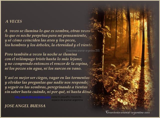 poema -a veces -jose angel buessa -creaciones anamar argentina-2015