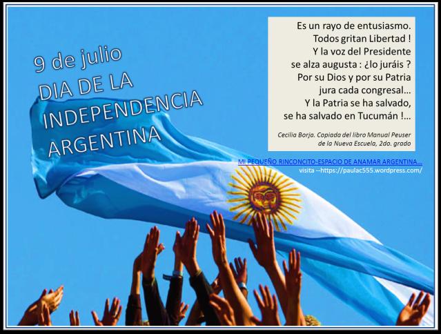 9 DE JULIO -INDEPENDENCIA ARGENTINA  -anamar argentina -2015